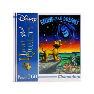 CLEMENTONI Puzzle 260 pezzi Mini Disney Re Leone Giocattolo