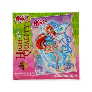 CLEMENTONI Puzzle 260 pezzi Mini Winx Bloom Giocattolo