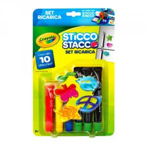 BINNEY & SMITH Crayola Ricarica Sticco Stacco Scuola Cartoleria