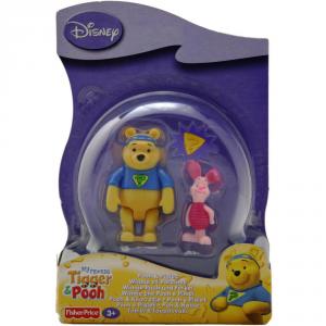 MATTEL Giochi Fisher-Price Personaggi Pooh & Piglet Bambini Prima Infanzia