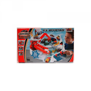 MATTEL Matchbox Pista Ice-Mountain Mister Boy Piste Treni