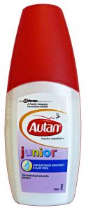AUTAN Junior vapo antipuntura 100 ml. - Insetticidi e repellenti