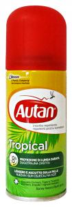 AUTAN Tropical spray secco antipuntura 100 ml. - Insetticidi e repellenti