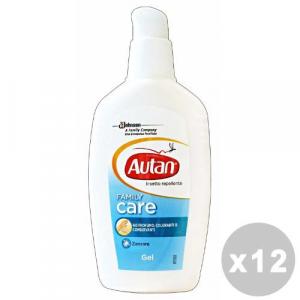 AUTAN Set 12 AUTAN Family gel antipuntura 100 ml. - insetticidi e repellenti