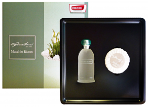 GANDINI Confezione regalo muschio bianco edt+saponetta