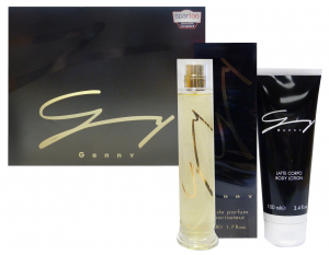 GENNY Regalo Noir Profumo 50 Ml + Lotion 100 Ml Fragranza Uomo
