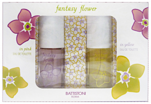 BATTISTONI Confezione regalo fantasy flower edt pink + yellow