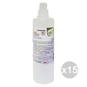 Set 15 ECOLAVO Igienoxi Aecoxi15 Detersivo Detergente Pulizia Della Casa