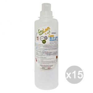 Set 15 ECOLAVO Bucato Aecbu15 Detersivo Detergente Pulizia Della Casa