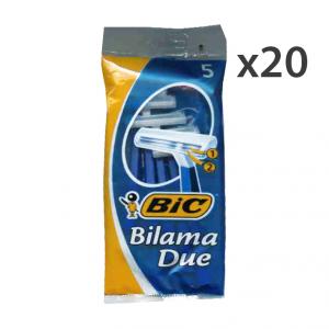 Set 20 BIC Bilama 2LAME R&G X 5 Pezzi Prodotti per rasatura