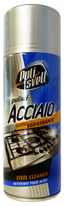 PULISVELT Acciaio Spray 400 Ml.  Detergenti Casa