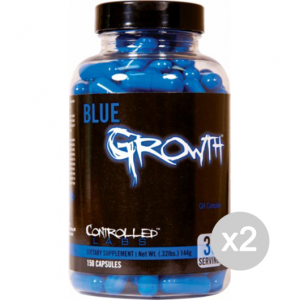 Set 2 CONTROLLED LABS Blue Growth Formato: 150 tabs Integratori sportivi, benessere