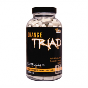 CONTROLLED LABS Orange Triad Formato: 270 tabs Integratori sportivi, benessere