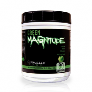 CONTROLLED LABS Green MAGnitude gusto: Green Apple Formato: 800 g. Integratori