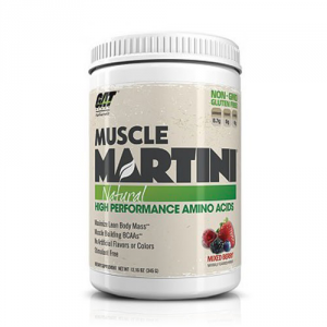 GAT Muscle Martini Natural gusto: Peach Mango Formato: 345 g. Integratori