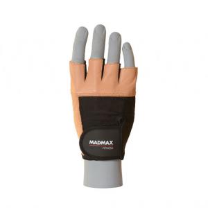 MAD MAX Fitness Guanti taglia XL marrone/nero abbigliamento e accessori fitness