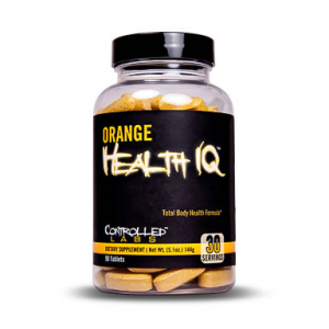CONTROLLED LABS Orange Health IQ Formato: 90 Tablets Integratori sportivi