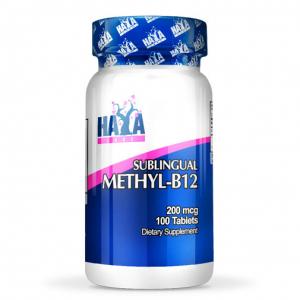 HAYA LABS Methyl B12 Formato: 100 Tablets Integratori sportivi, benessere fisico