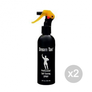 Set 2 DREAM TAN Dream Tan Professional self tanning spray Formato: 236 ml Integratori