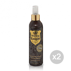 Set 2 DREAM TAN Bronze Knight Formato: 236 ml Integratori sportivi, benessere fisico