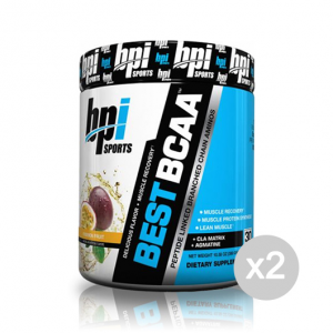 Set 2 BPI SPORTS Best BCAA gusto: Blue Raspberry Formato: 300 g Integratori sportivi