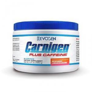 EVOGEN Carnigen Plus Caffeine gusto: Mango Lemonade Formato: 132 g. Integratori