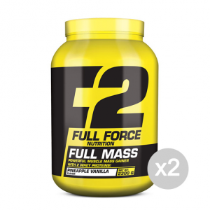 Set 2 FULL FORCE Full Mass Formato: 2300 g. Integratori sportivi, benessere fisico