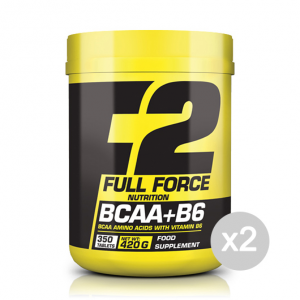 Set 2 FULL FORCE BCAA+B6 Formato: 350 Tablets Integratori sportivi, benessere fisico