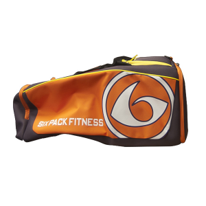 6 PACK FITNESS Prodigy 300 Varsity - Borgogna/Arancio/Giallo fitness