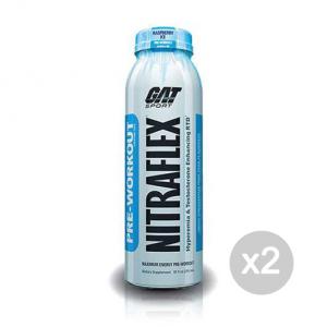 Set 2 GAT Nitraflex RTD gusto: Raspberry Ice Formato: 295ml Integratori sportivi