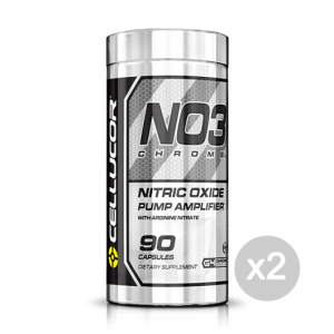 Set 2 CELLUCOR NO3 Chrome G4 Formato: 90 Capsules Integratori sportivi, benessere