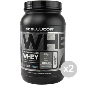 Set 2 CELLUCOR Cor Performance Whey gusto: Chocolate Formato: 900 g Integratori