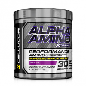 CELLUCOR Alpha Amino Xtreme gusto: Fruit Punch Formato: 390 g. Integratori