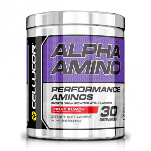 CELLUCOR Alpha Amino - New gusto: Fruit Punch Formato: 384 g. Integratori