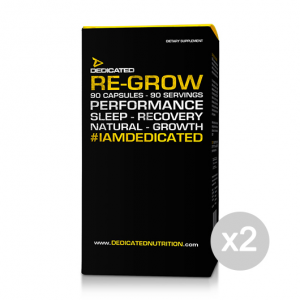 Set 2 DEDICATED Re-Grow Formato: 90 Capsules Integratori sportivi, benessere fisico