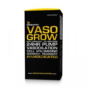 DEDICATED Vaso Grow Formato: 300 caps Integratori sportivi, benessere fisico