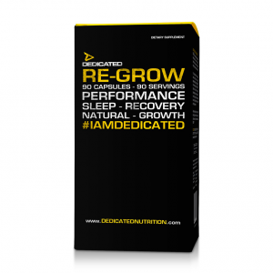 DEDICATED Re-Grow Formato: 90 Capsules Integratori sportivi, benessere fisico