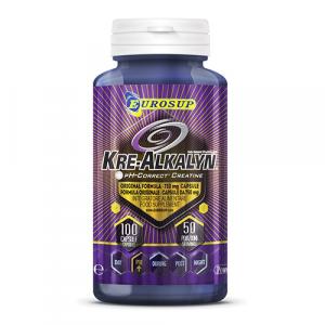 EUROSUP Kre-Alkalyn Formato: 100 capsule Integratori sportivi, benessere fisico