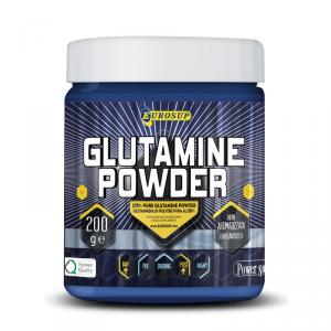 EUROSUP Glutamine Powder Formato: 200 g Integratori sportivi, benessere fisico
