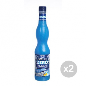 Set 2 FABBRI Sciroppo Zero kcal (anice) Formato: 560 ml Integratori sportivi