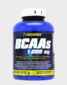 EUROSUP BCAAs Formato: 300 tab Integratori sportivi, benessere fisico