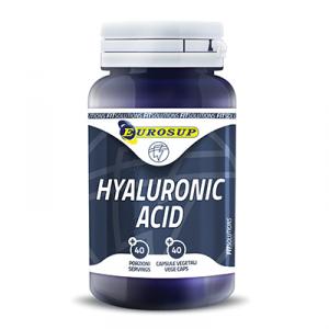EUROSUP Hyaluronic Acid Formato: 40 capsule Integratori sportivi, benessere