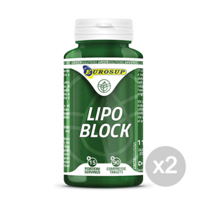 Set 2 EUROSUP Lipo Block Formato: 90 tav Integratori sportivi, benessere fisico