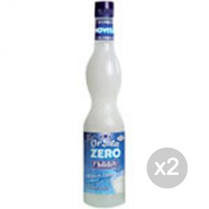 Set 2 FABBRI Sciroppo Zero kcal (orzata) Formato: 560 ml Integratori sportivi