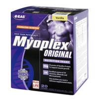 EAS Myoplex 20 pak gusto: Cioccolato Formato: 1520 g Integratori sportivi