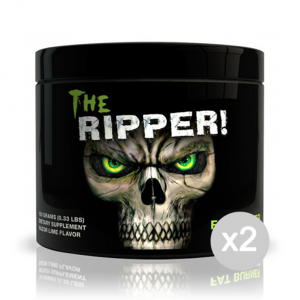 Set 2 COBRA LABS The RIPPER! gusto: Ananas Formato: 150 g. Integratori sportivi