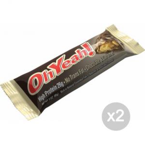 Set 2 ISS Oh Yeah Bar - Gluten Free gusto: Choco-Caramel GLUTEN FREE Formato: 85 g