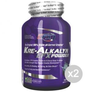Set 2 EFX Kre-Alkalyn Powder Formato: 100gr Integratori sportivi, benessere fisico