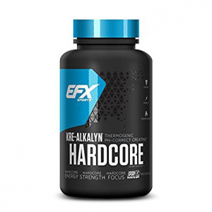 EFX Kre-Alkalyn HARDCORE Formato: 120 capsule Integratori sportivi, benessere