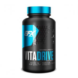 EFX Vita Drive Formato: 120 Capsules Integratori sportivi, benessere fisico